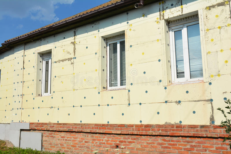 Thermal House Insulation Exterior Facade Wall Insulation With Styrofoam Polystyrene With