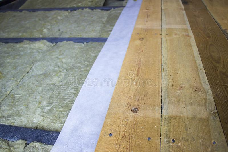 Thermal Insulation Of The Floor In The Frame House And Vapor Barrier