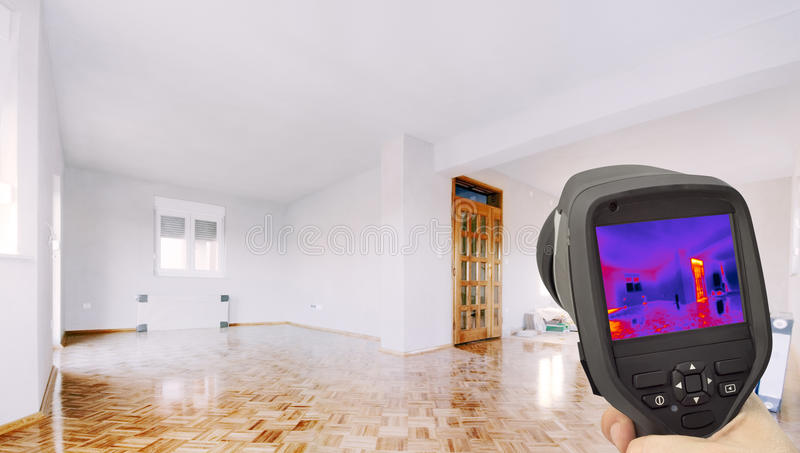 Thermal Insulation of the Home royalty free stock photo
