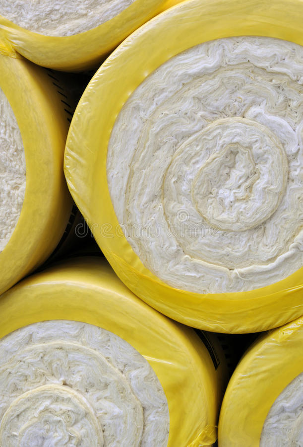 Thermal insulation material royalty free stock image