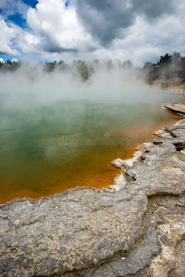 Download Thermal Pool stock image. Image of park, parkland, destination - 8545047