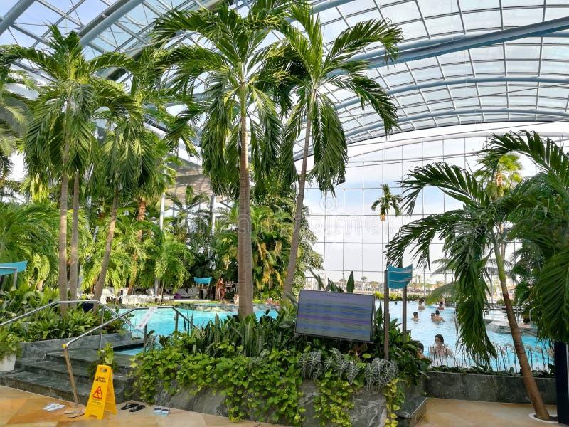 Thermal pool royalty free stock photo