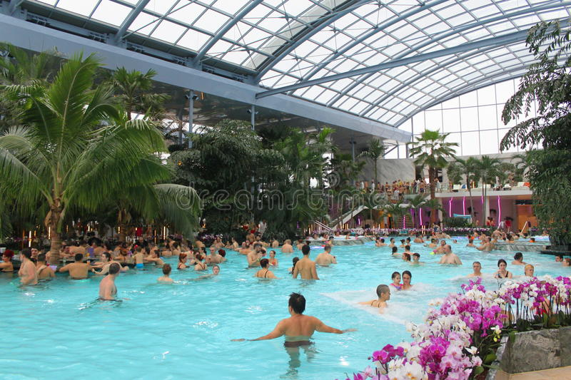 Thermal pool royalty free stock images