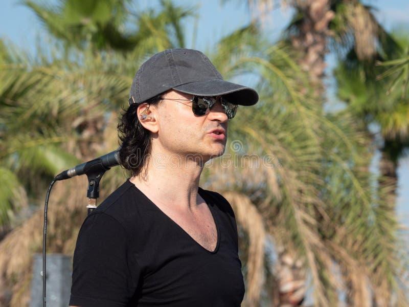Therme Balotesti - concert Publika - singer stock photo
