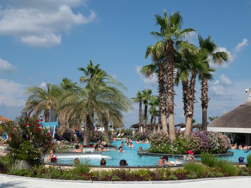 Therme Balotesti - beautiful and relaxing area near Bucharest royalty free stock image