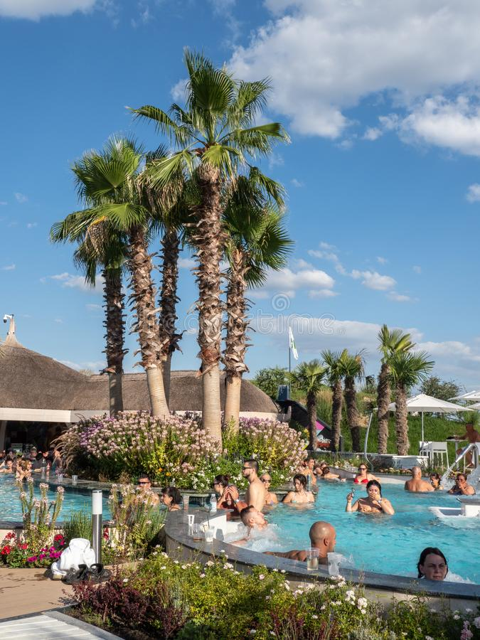 Therme Balotesti - beautiful and relaxing area near Bucharest royalty free stock images