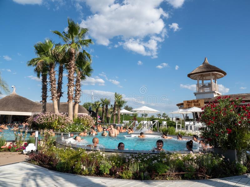 Therme Balotesti - beautiful and relaxing area near Bucharest royalty free stock photo