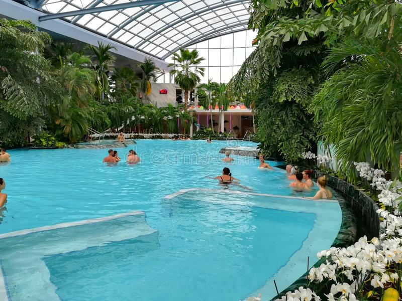 Thermal pool royalty free stock photography