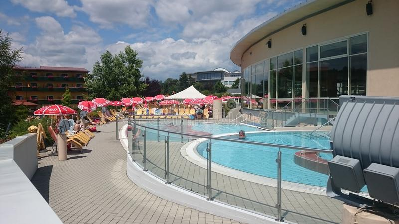 Therme Stegersbach photo stock