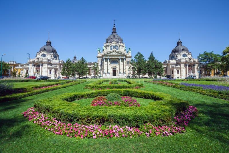 Thermisch Baden en Kuuroord, Boedapest royalty-vrije stock fotografie