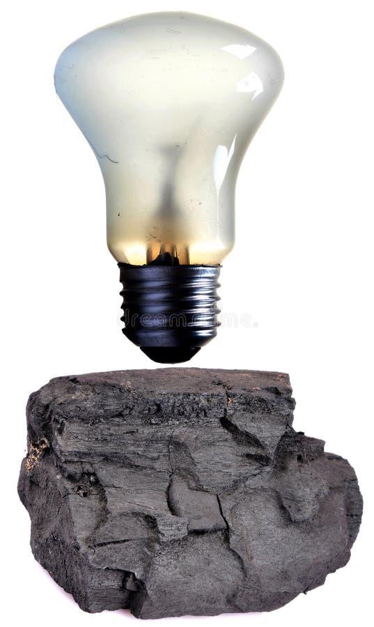 Thermische Elektrizität lizenzfreie stockfotografie