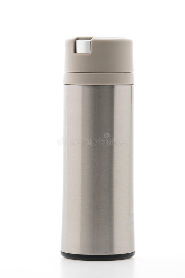 Thermische fles royalty-vrije stock afbeelding