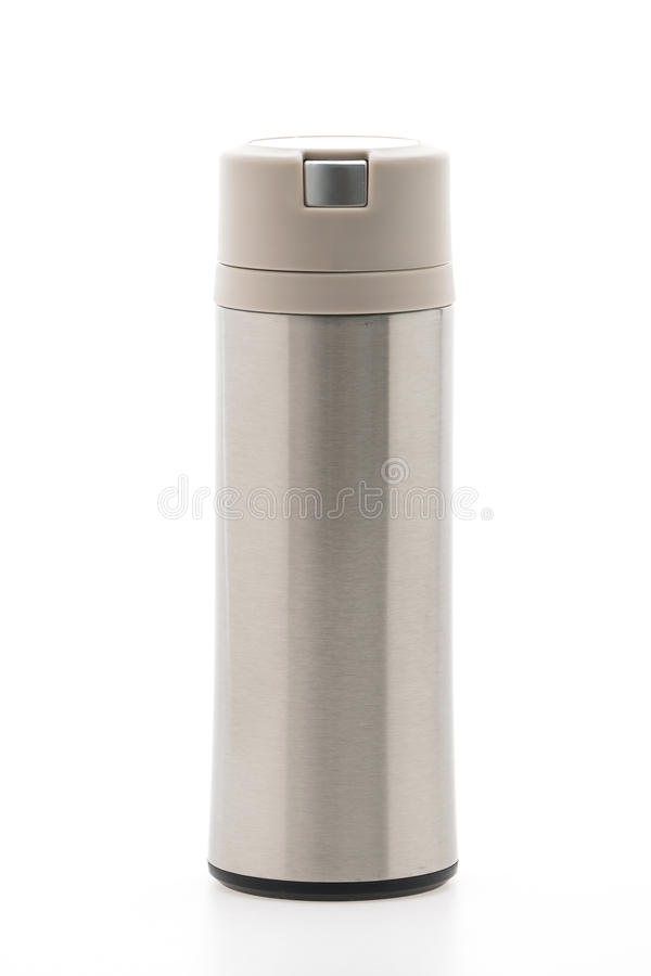Thermische fles stock afbeeldingen