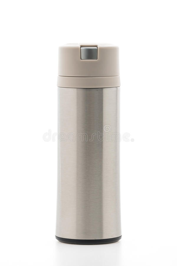 Thermische fles royalty-vrije stock fotografie