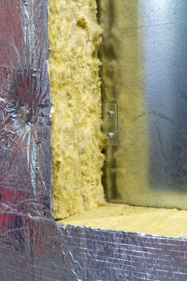 Thermische isolatie stock afbeeldingen