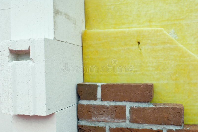 Thermische isolatie stock fotografie