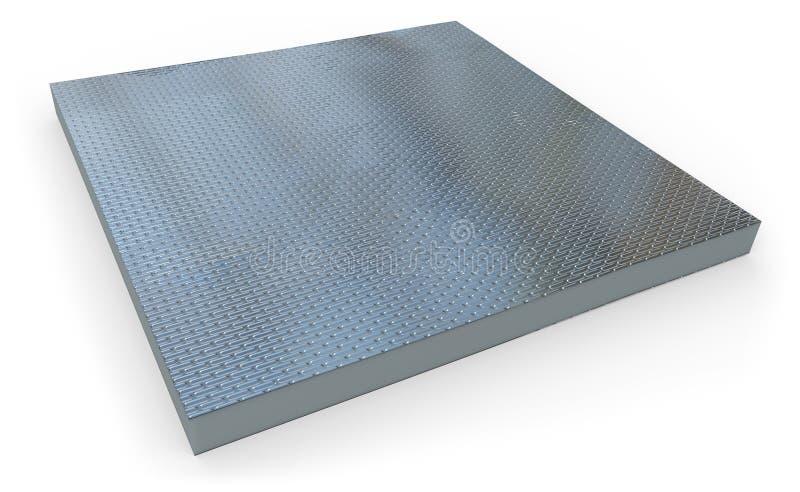 Thermische isolatiepaneel vector illustratie