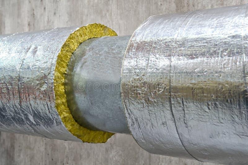 Thermische Isolierung stockfoto