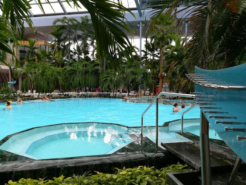 Thermische Pool royalty-vrije stock afbeelding