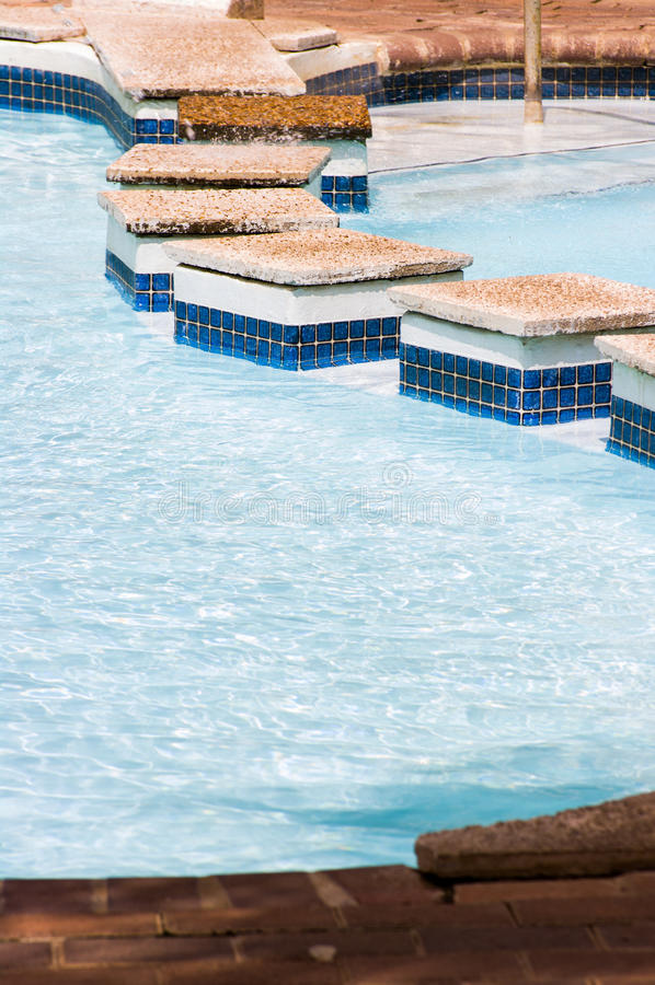Thermische Pool, Montagu, Zuid-Afrika stock foto