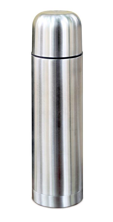 Thermo Flasche lizenzfreie stockbilder