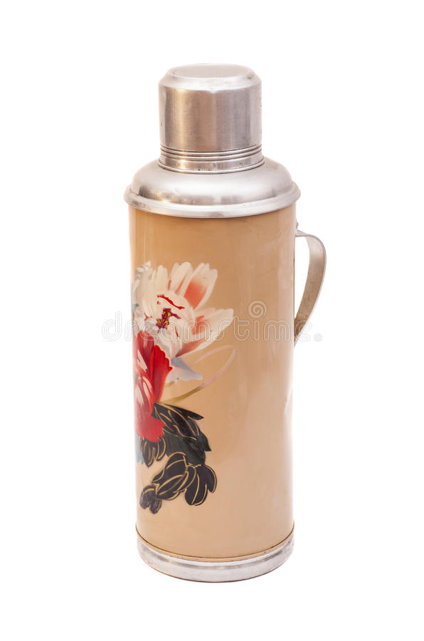 Thermo flask stock images