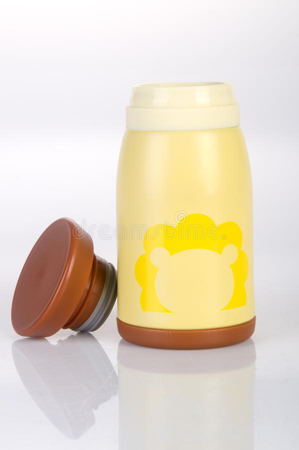 Thermo or Thermo flask on a background. Thermo or Thermo flask on a background stock image