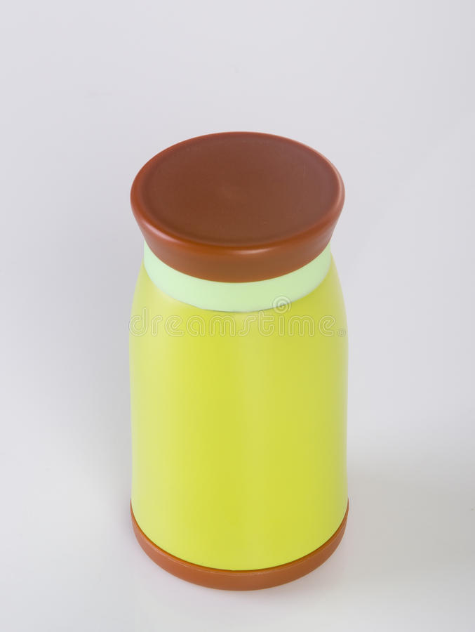 Thermo or Thermo flask on a background. Thermo or Thermo flask on a background stock photos