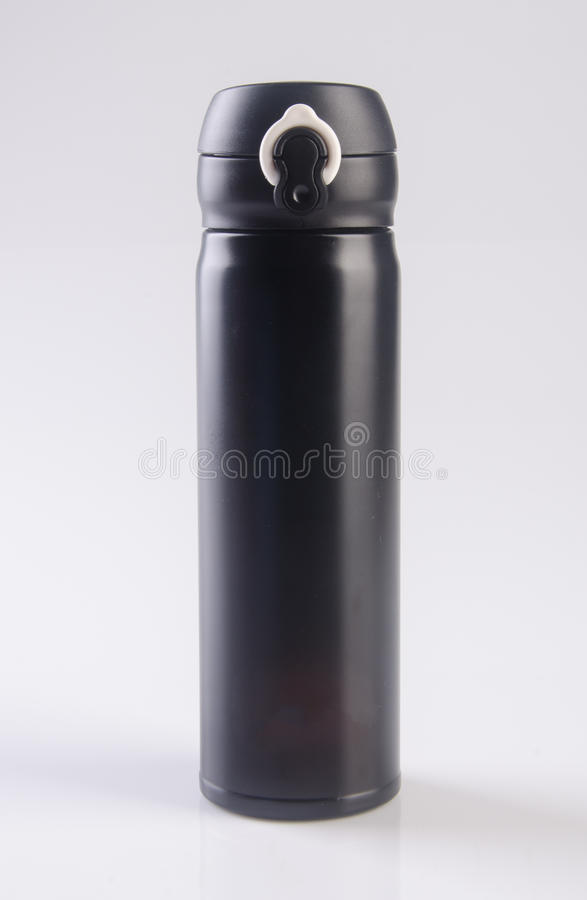Thermo or Thermo flask on a background. Thermo or Thermo flask on a background royalty free stock photos