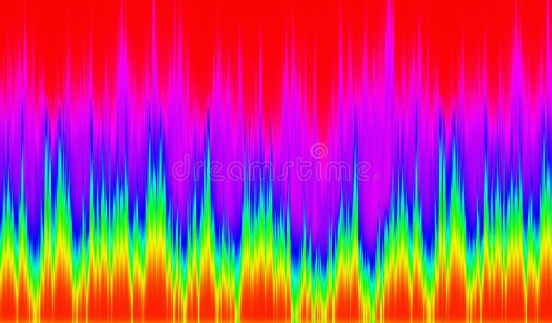 Thermograph υπόβαθρα φάσματος ελεύθερη απεικόνιση δικαιώματος