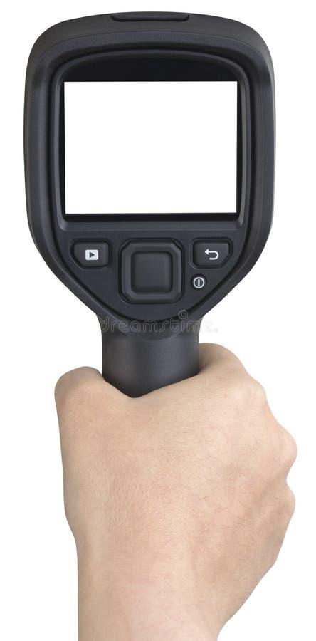 Thermographic kamery wycinanka obraz royalty free