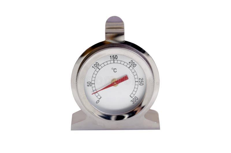 Thermomètre à four à gaz photos stock