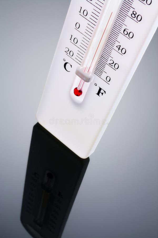 Thermomètre photographie stock libre de droits