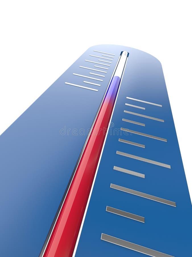 Thermomètre illustration de vecteur