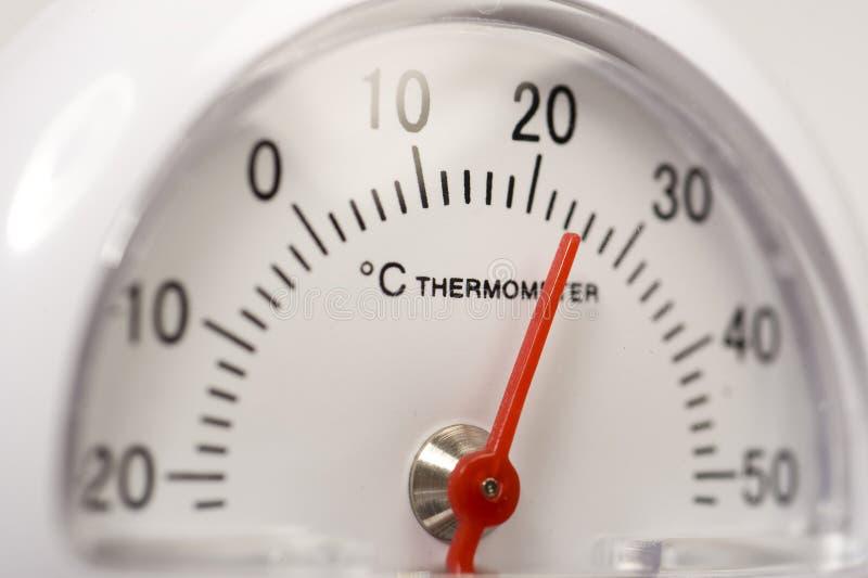 Thermomètre Celsius photographie stock