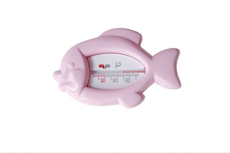 Thermomètre de l'eau photos stock