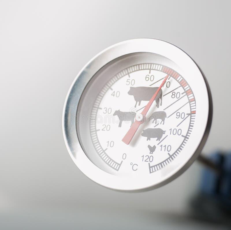 Thermomètre de viande photos stock
