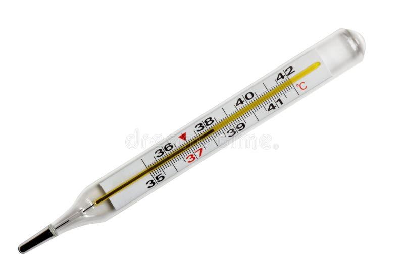 Thermomètre médical. photos libres de droits
