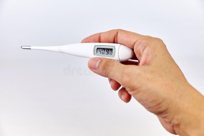 Thermomètre médical image stock
