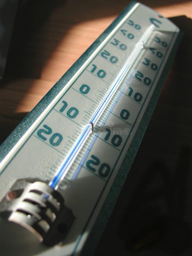 Thermometer Στοκ εικόνα με δικαίωμα ελεύθερης χρήσης
