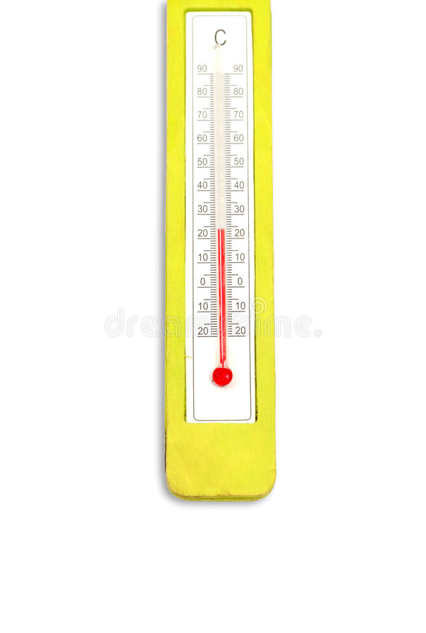 Thermometer royalty-vrije stock foto