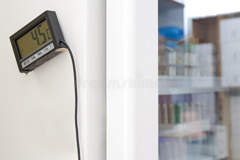 Thermometer stockbilder