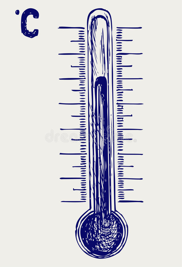 Download Thermometer stock vector. Illustration of background - 26975325