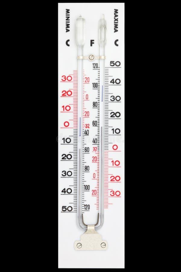 Thermometer stockfotografie