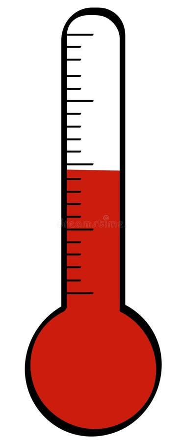 Thermometer vector illustratie