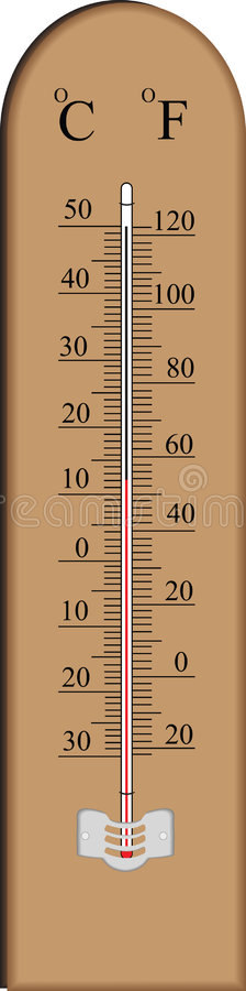 Download Thermometer stock illustration. Image of warm, thermometre - 6783670