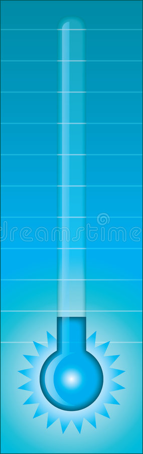 Download Thermometer - cold stock vector. Image of fahrenheit, medical - 1520715