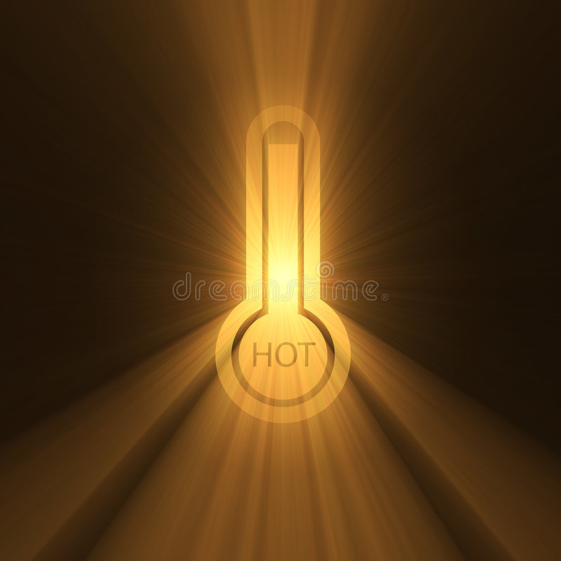 Download Thermometer Sign Hot Temperature Flare Stock Illustration - Image: 2902678