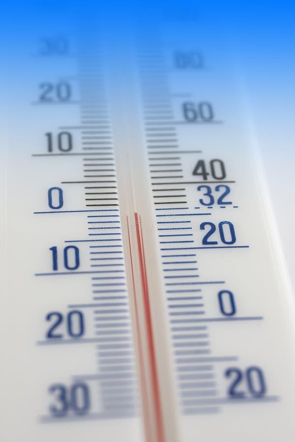 Thermometerkoude stock afbeeldingen