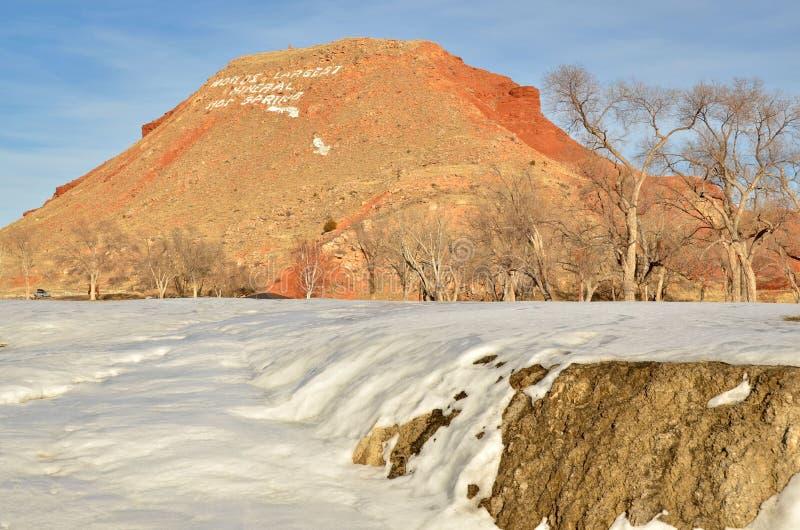 Thermopolis Wyoming immagini stock libere da diritti